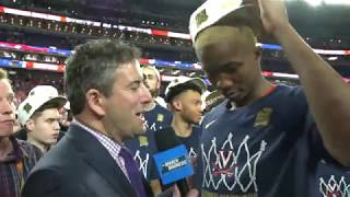 Mamadi Diakite on how his Purdue buzzer-beater helped Virginia to a title