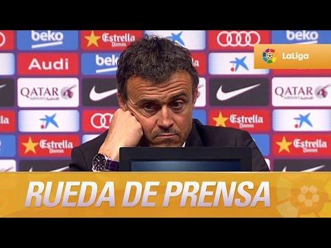 """Luis Enrique: """"Falta rematar el trabajo en Granada"""""""