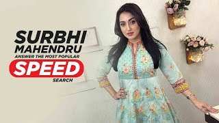 Surbhi Mahendru | Answers The Most Searched Speed Questions | Speed Record