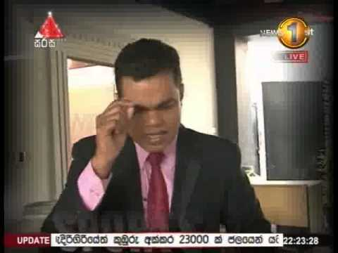 News 1st Prime time 10PM  Sirasa TV 20th December 2014n