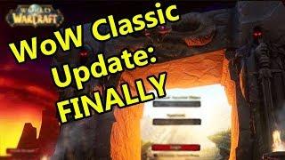 WoW Classic Update: FINALLY! | WoWcrendor