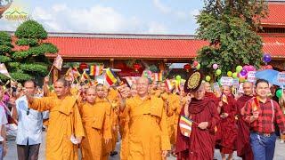 Diễu Hành Xe Hoa Mừng Phật Đản Sinh | Chùa Ba Vàng Ngày 8/4/Kỷ Hợi