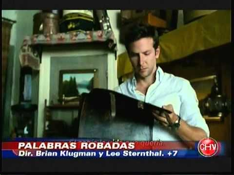PALABRAS ROBADAS ESTRENO EN CHILE COMENTARIO ITALO PASSALACQUA NOTA 3 CHVNOTICIAS 15 11 2013