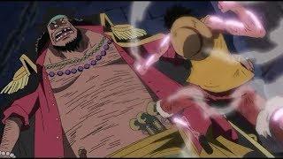 Luffy VS Blackbeard(ENG SUB)