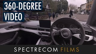AA 360-Degree 4K Video Car Simulation - 360° Video Example | Spectrecom Films