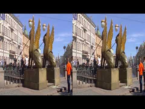 VR 3D фильмы - С.Петербург, Петродворец, Валдай в 3D - Документальное кино в 3D