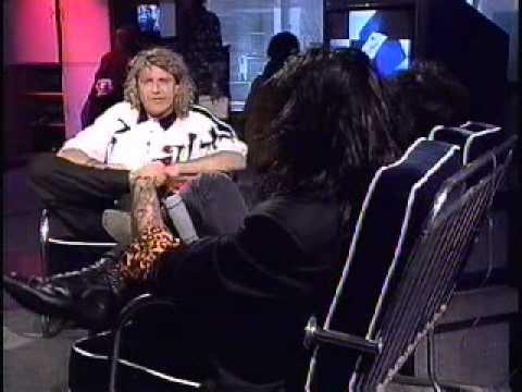 Nikki Sixx&Mick Mars Live Interview on Much Music, 1991-Part 2