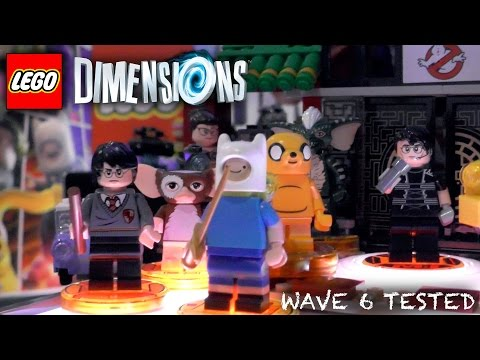 Lego Dimensions Wave 6 & Wave 7 - Unboxed, Packaging, Gameplay, Year 2