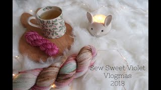 Sew Sweet Violet ..... Vlogmas Days Twenty One & Twenty Two