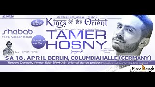 Tamer Hosny in Berlin - Germany 18 April ( Europe Tour 2015 )