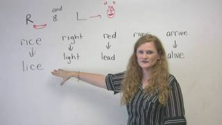 English Pronunciation - R & L