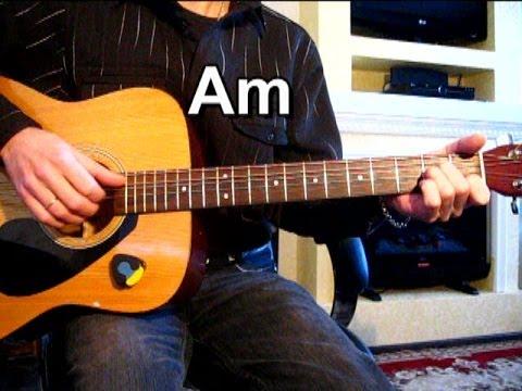 Романс - Очи черные Тональность ( Am ) Песни под гитару