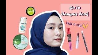 "Makeup Kampus ""NATURAL"" Tanpa Foundation - Deshinta Arisanto"
