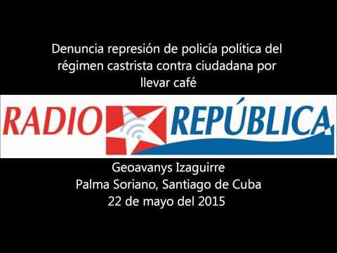 Maltrata polícia cubana a ciudadana por llevar café en Santiago de Cuba
