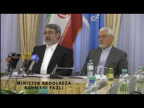 Press Conference at the Iranian Embassy in Vienna on 15 March 2014