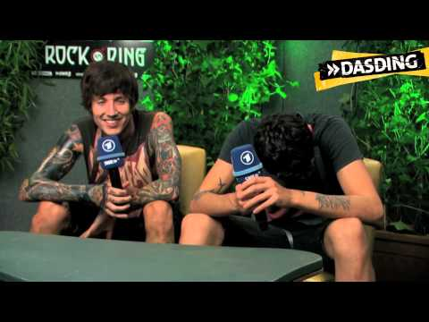 15 Fragen an Bring Me The Horizon | DASDING bei Rock am Ring 2013