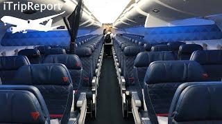 Full Flight: Delta Air Lines B757-200 Pittsburgh to Paris (PIT-CDG)