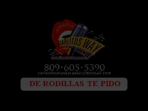 KARAOKE DE RODILLAS TE PIDO LUIS MIGUEL DEL AMARGUE. Carlito's way...servicios de karaoke