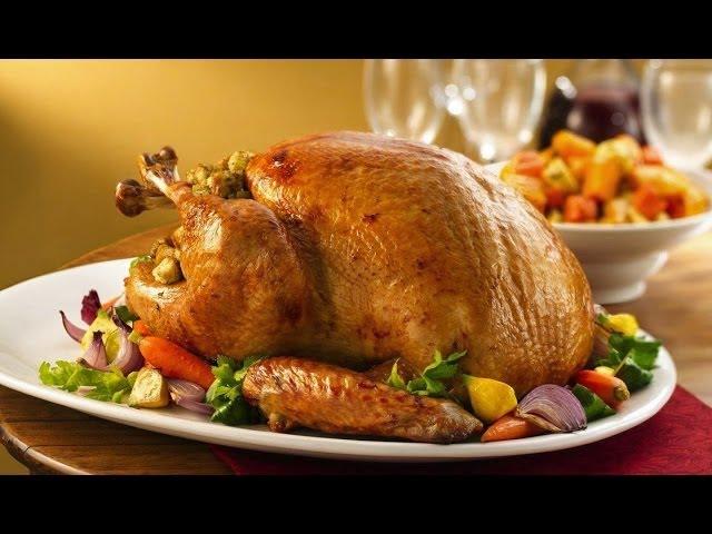 How To Cook A Turkey - How To Roast A Turkey - Best Thanksgiving Roast Turkey Recipe