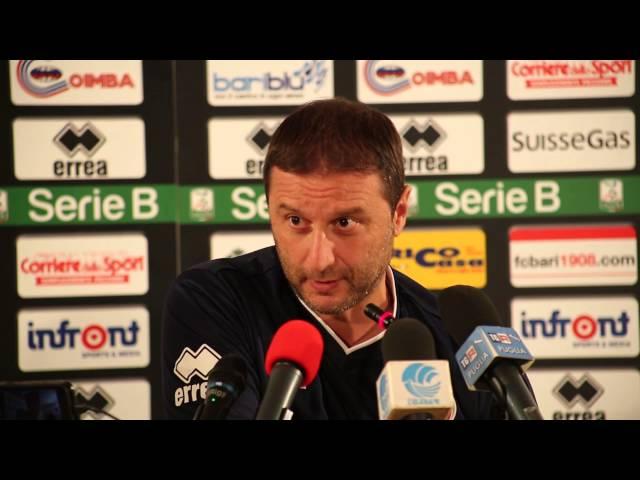 Serie B: Virtus Lanciano-Bari | Conferenza stampa pre-partita