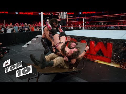 Double knockouts by a single move: WWE Top 10, Dec. 2, 2017