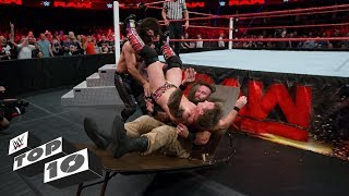 Download Double knockouts by a single move: WWE Top 10, Dec. 2, 2017 3Gp Mp4