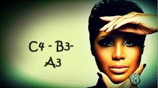 Toni Braxton Vocal Showcase: D3 - Bb5 (Seven Whole Days Live)