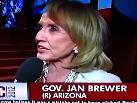 Jan Brewer hopes Obama wins