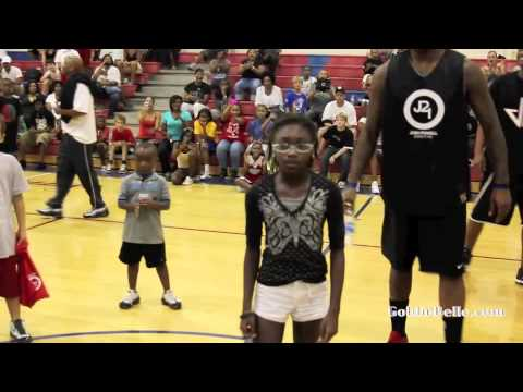 NBA players vs Kids in Dance Contests