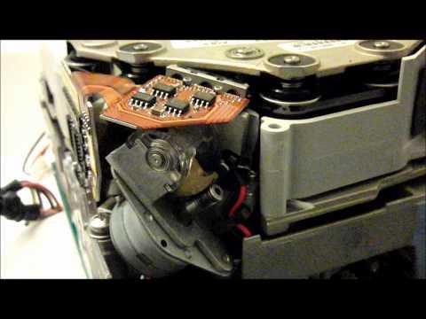 Quantum DLT IV Tape Drive Loading