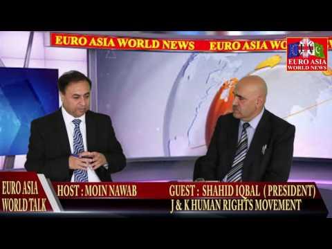 EURO ASIA WORLD 01.08.16 Prof. SHAHID IQBAL