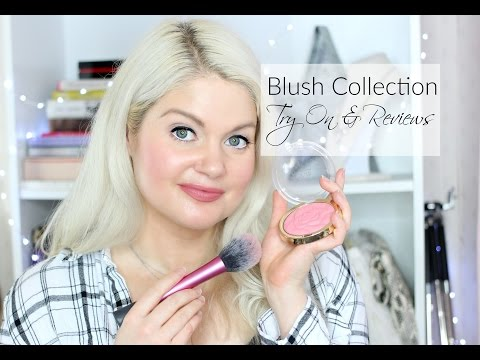 Blush Collection Swatch & Reviews   Makeup Collection
