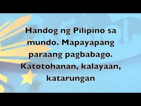 Handog Ng Pilipino Sa Mundo - Minus One  Feb. 2014 video