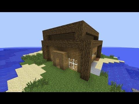 มายคราฟ:เทคนิคง่ายๆสร้างบ้านสวยและเร็ว 1#