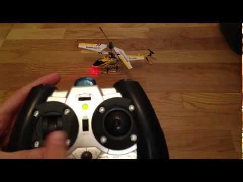 Aprende a pilotar tu helicóptero de tres canales.