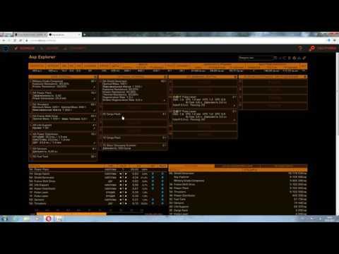 Elite Dangerous Работа с сайтами(фит кораблей,торговые маршруты)