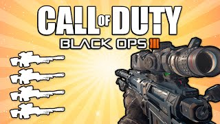 Quad Feed with Every Gun! (Call of Duty: Black Ops 3)
