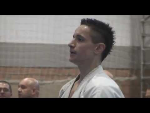 Junior Zsolt Zsiga 2011 U-20 Kyokushin Karate Europe Champion Aftermovie Image 1