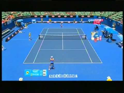 Agnieszka Radwańska vs Petra Martić Australian Open 2011 2nd round - first set highlights