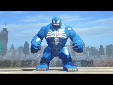 LEGO Marvel Superheroes - Blue Venom Big-Fig Gameplay