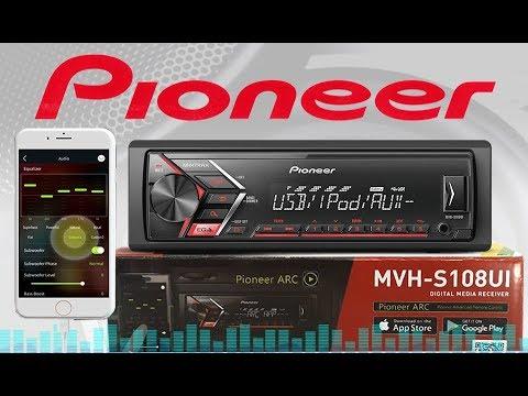 SOM AUTOMOTIVO PIONEER MVH-S108UI MP3 USB - LANÇAMENTO 2018