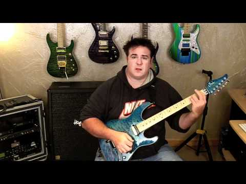 Xander Demos Reviewing the Suhr Modern