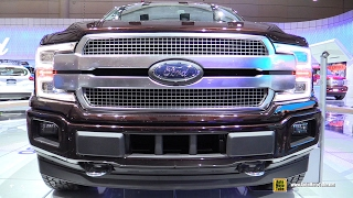 2018 ford f150 platinum   exterior and interior walkaround   2017 toronto auto show