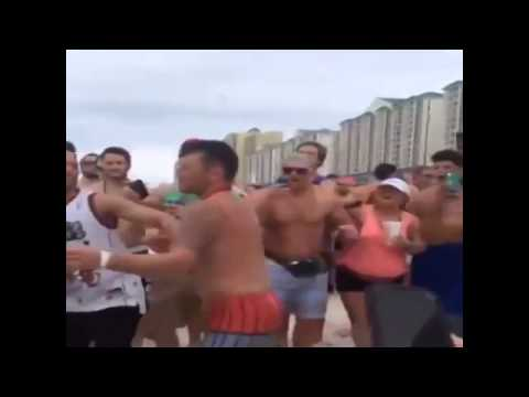 Woman Gets Knocked Out Guy Gets Knocked Out Cold For