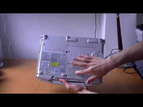 Panasonic Toughbook F8 unboxing