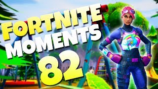 THE SMARTEST ESCAPE EVER!? (200 IQ PLAY) | Fortnite Daily Funny and WTF Moments Ep. 82