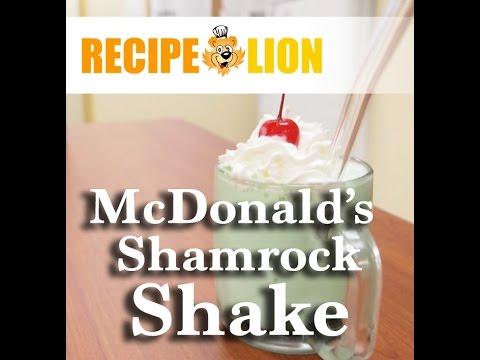 How to Make McDonald&#8217;s Copycat Shamrock Shake Recipe