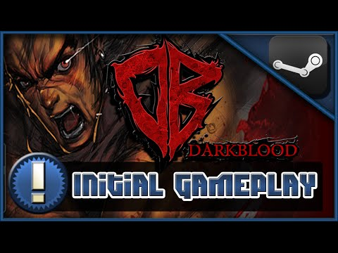 Darkblood Gameplay Commentary - First Look HDDARK BLOOD ONLINE Gameplay First LookDark Blood Online - Initial Gameplay!