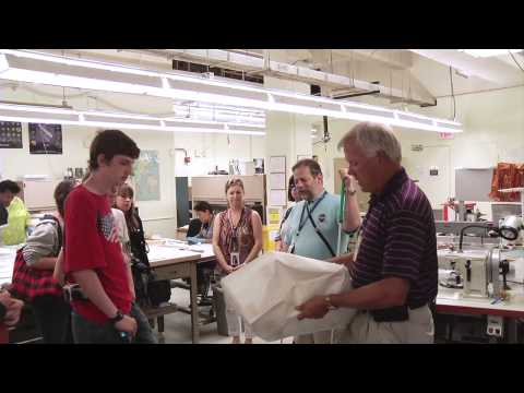 Indiana School for the Blind Visits Goddard
