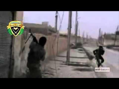 Syrian Rebels Engage In Battle With The Syrian Army